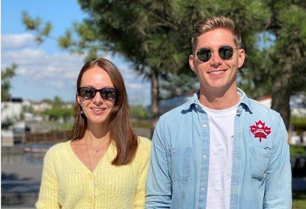 Владимир Остапчук с Кристиной Горняк, фото Instagram