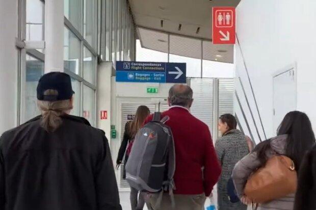 Аэропорт, кадр из видео