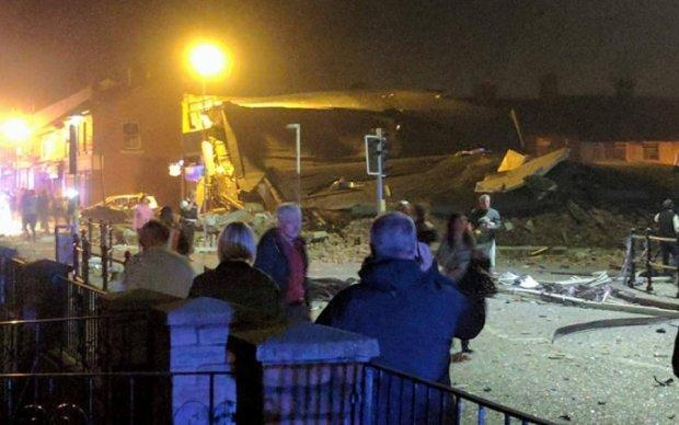 В Британии взорвался дом: госпитализированы три десятка человек