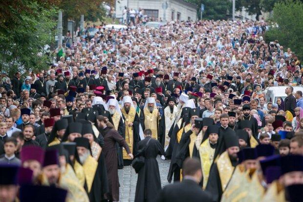 большой крестный ход в День Крещения Руси