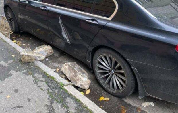 поврежденный автомобиль / фото: Дмитрий Ралевский