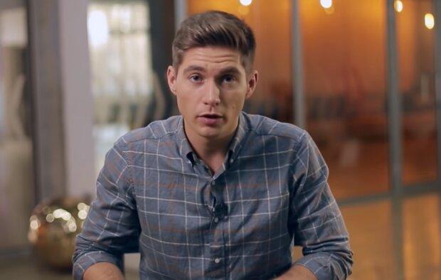 Владимир Остапчук, скрин из видео