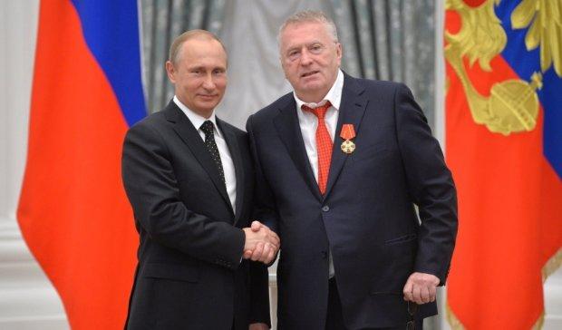 Від Гітлера до царя за тиждень: як Жириновський Путіну співав