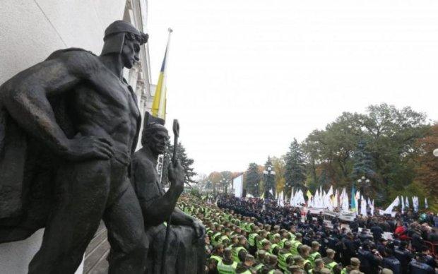 Протести в Україні: активісти переключилися на президента