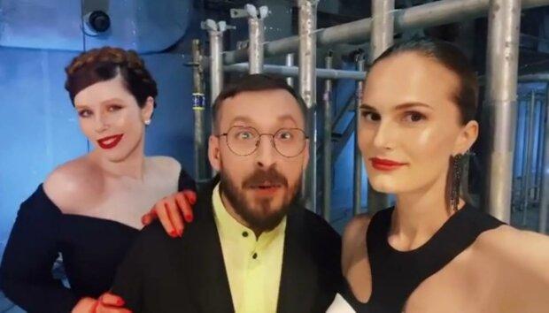 Костромічова, Плакидюк і Нікітюк, скріншот з відео