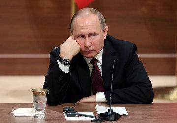 Путін в зажурі