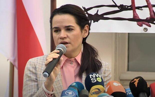 Світлана Тихановська, скріншот: YouTube