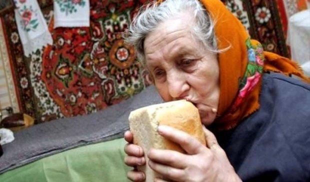 Украинские пенсионеры вынуждены жить на $3 в день