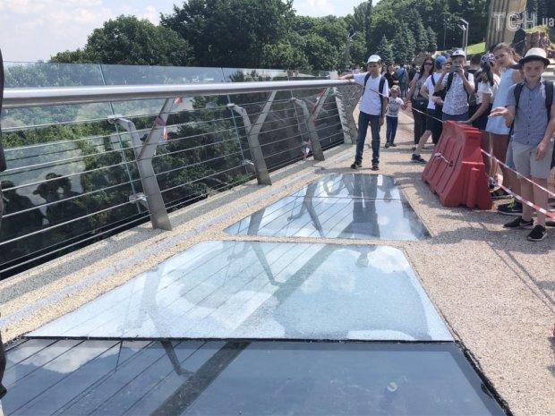 мост Кличко треснул