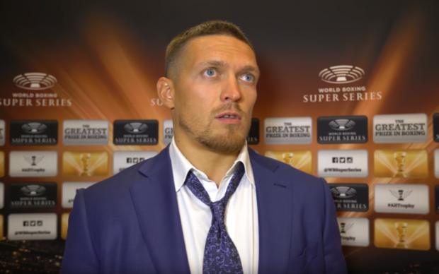 Усик пояснив вибір свого суперника у Всесвітній боксерській суперсерії