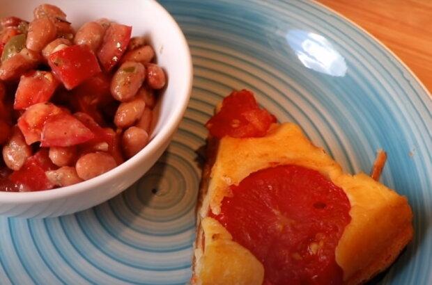 """Пиріг з помідорами, фото """"Со вкусом"""""""