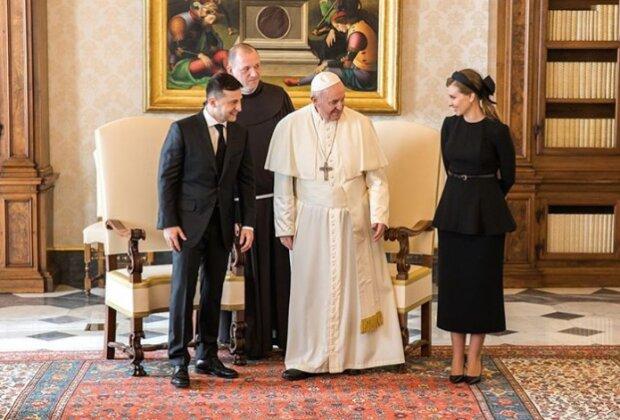 Встреча с Папой Римским, фото Іnstagram