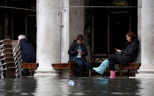 Венеція йде під воду, фото Reuters