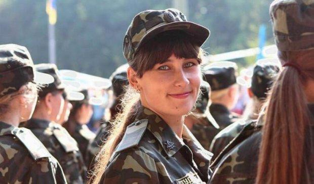 Юні курсантки присягли на вірність Україні (фото)