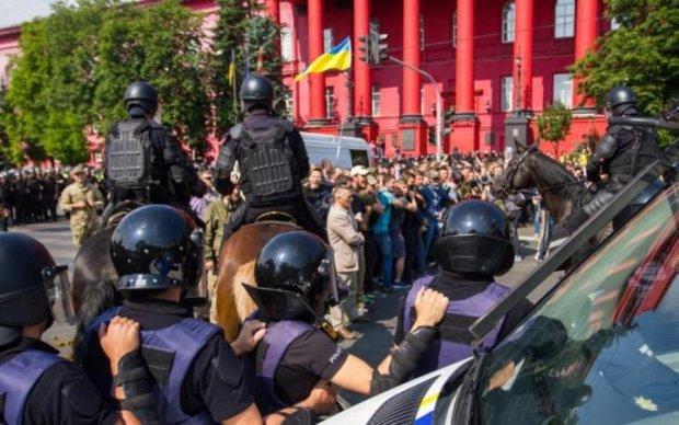 Марш Рівності в Києві: поліція затримала півсотні противників