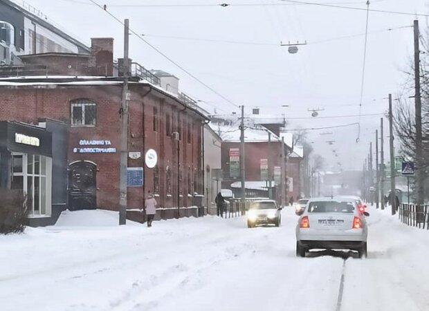 Негода у Львові, фото з фейсбук