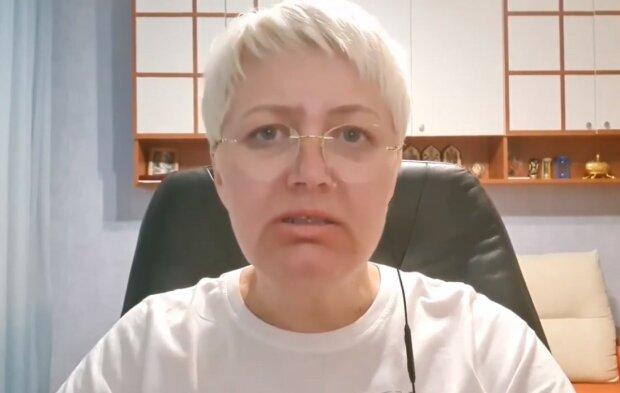 Лариса Ницой, скриншот из видео