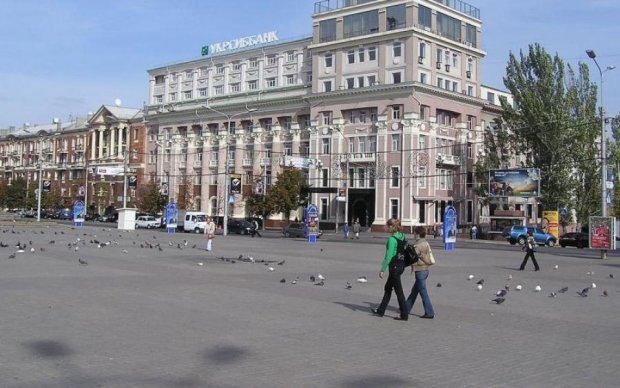 Заселений патріотами: архівне фото Донецька потішило українців