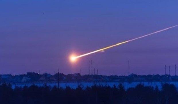 Под Львовом упал огромный метеорит (видео)