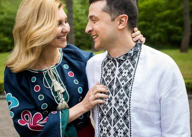 Олена і Володимир Зеленські, фото: Instagram Олени Зеленської