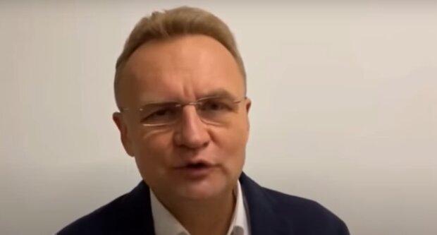 Андрей Садовый, скриншот с видео