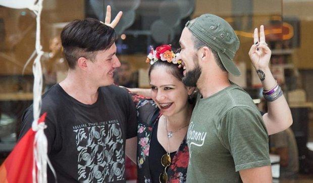 В Одесі замість гей-параду провели флешмоб (фото)
