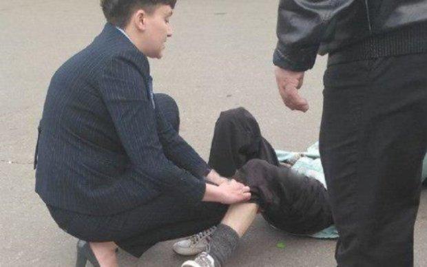 Автомобіль Савченко збив пенсіонерку на Троєщині