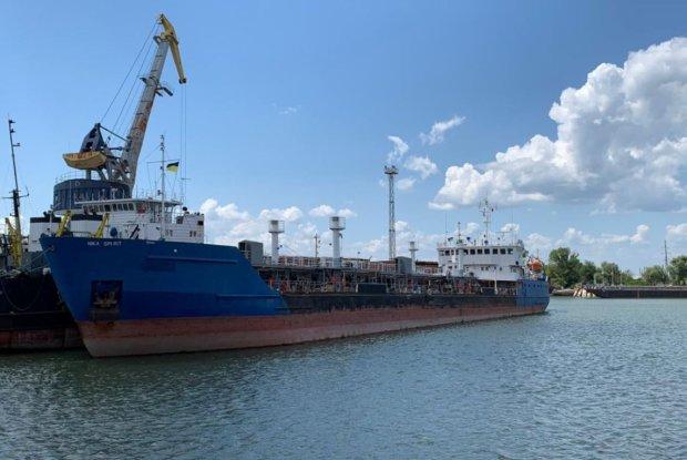 Российский танкер Nika Spirit