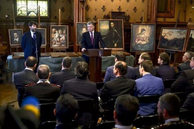 картины Порошенко, фото president.gov.ua