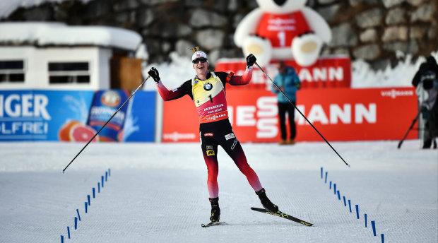 Норвежец Бе выиграл четыре золота на ЧМ по биатлону и повторил рекорд