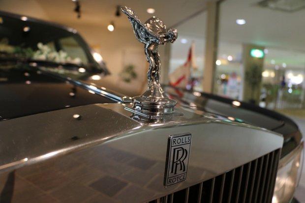 Дух екстазу Rolls-Royce