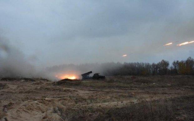 Террористы расстреляли собственные передовые формирования: видео