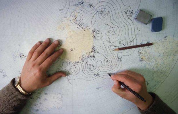 створення синоптичної карти