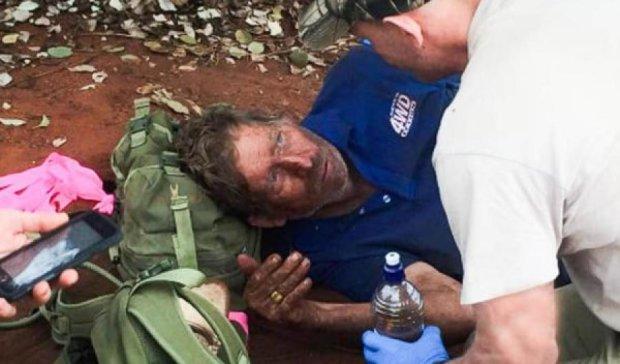Мужчина выжил в пустыне Австралии, питаясь муравьями (фото)