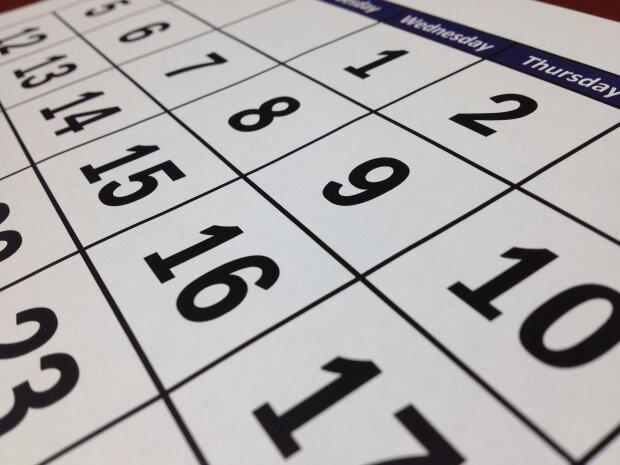 календар фото: pixabay