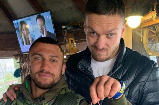 Ломаченко та Усик, фото: boxingnew