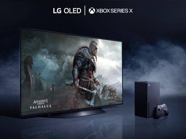 LG OLED TV та XBOX серії X