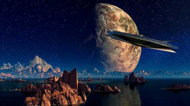 НЛО затаились на Луне перед нападением: притихли, чтоб не сеять панику на Земле