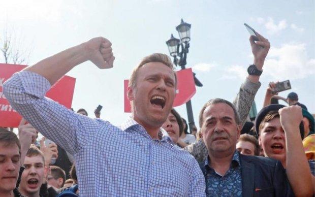 Навальний анонсував екшн у десятках міст