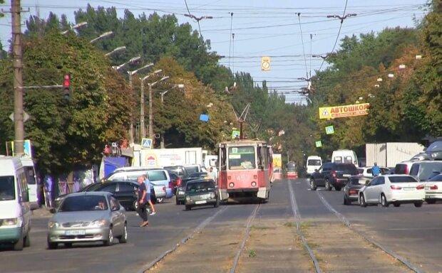трамвай / скриншот из видео