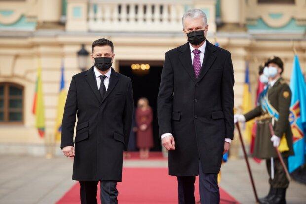Президент Украины и Литвы, фото: ОПУ