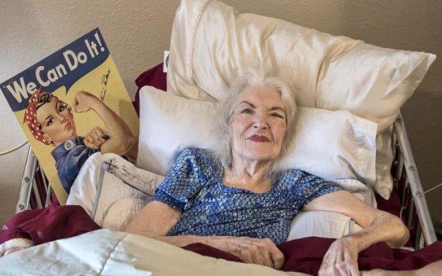 Умерла женщина с самого известного плаката в мире