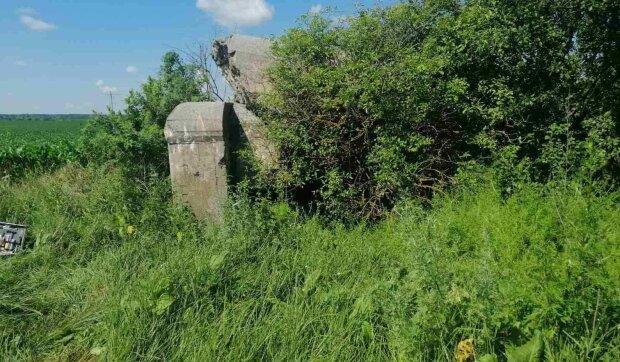 Место инцидента, фото: Нацполиция