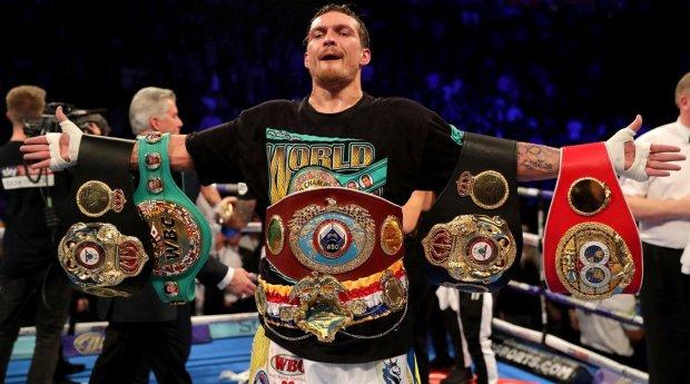 Усик стал боксером года по очередной версии
