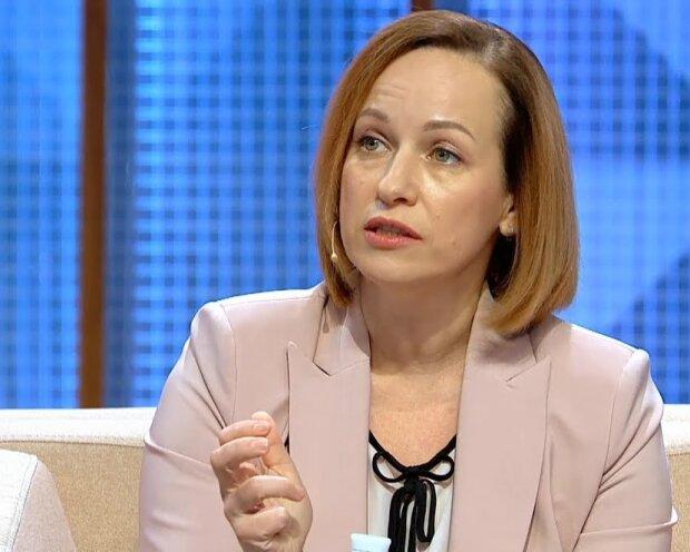 мініст соцполітики Марина Лазебна