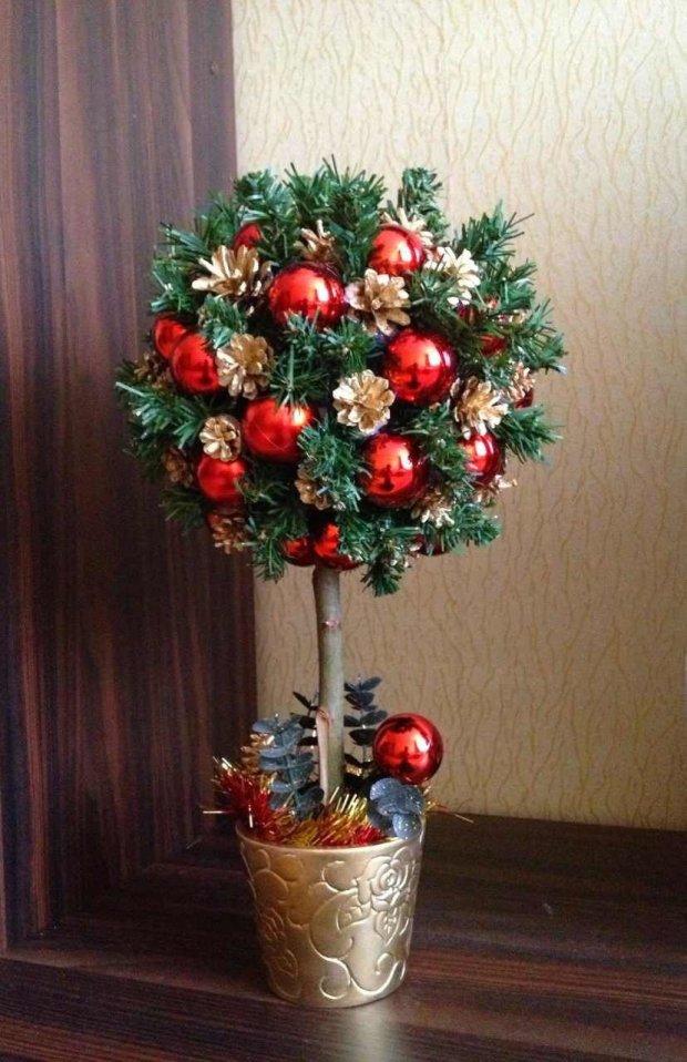 Дерево на Новый год своими руками
