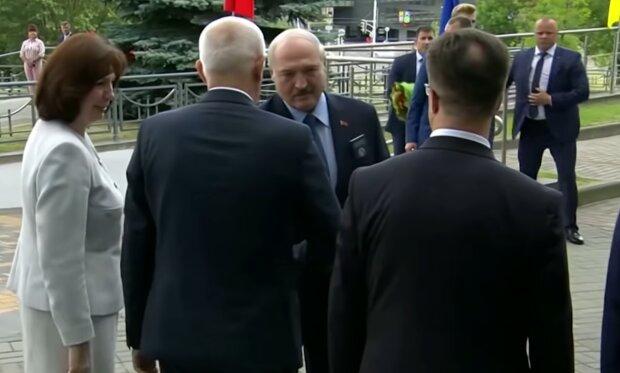 Олександр Лукашенко, скріншот з відео