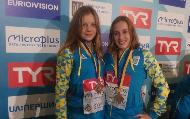 Украинки завоевали золото на чемпионате Европы по прыжкам в воду