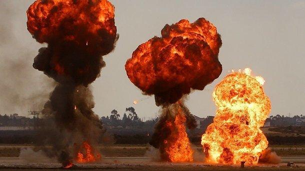 вибухи на складах