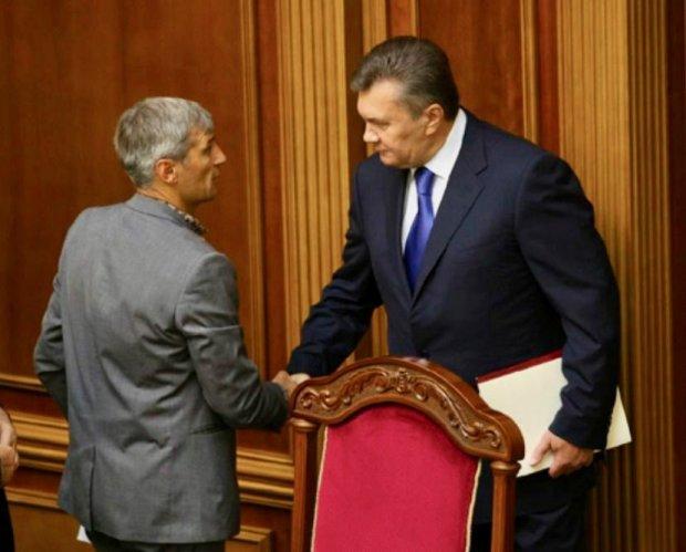 Руслан Кошулинський і Віктор Янукович